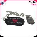 Étiquettes de crabot bon marché estampées promotionnelles personnalisées par métal d'indicateur de pays