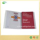 Cópia Offset dos livros de nota do emperramento espiral (CKT-NB-411)