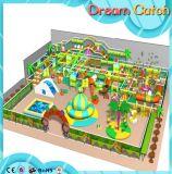 美しい遊園地のテーマの屋内子どもだまし領域