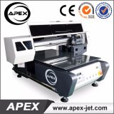 Plastic Wood/Glass/Acrylic/Metal/Ceramic/Leather Printing를 위한 2015 새로운 Design Digital Flatbed Printer Machine