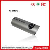 Carro duplo DVR X3000 da câmera com registador e G-Sensor do GPS