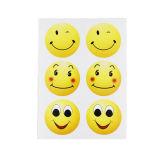 Стикер Emoji собственной личности слипчивый круглый милый, стикер шаржа