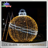 Indicatori luminosi esterni esterni/grandi dell'indicatore luminoso della sfera di illuminazione LED di festa di natale delle sfere/sfere illuminate di natale
