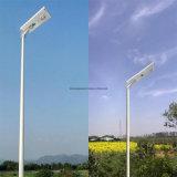 2016 luz de calle solar integrada caliente de la venta 20/30/40 W LED LED (toda en una solar)