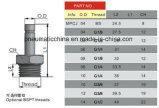 De Chinese Montage van het Messing van de Goede Kwaliteit Vernikkelde Pneumatische