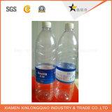 Etiqueta engomada de la botella de la impresión de la escritura de la etiqueta de la impresión de PVC/Pet para el agua mineral