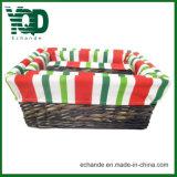 Eco Handmade 저장 등나무 바구니