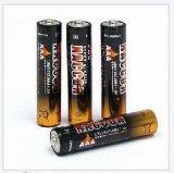 Batería alcalina de la pila seca Lr03