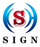 Signes de publicité lumineux de la lettre 3D