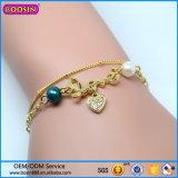 De Armband van de Juwelen van de manier met de Levering voor doorverkoop van de Tegenhanger van de Vorm van het Hart van de Liefde