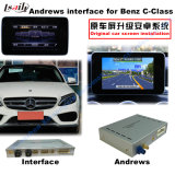 Interface de navigation Android de voiture pour Benz C, Cla, Clk, B, a, E, Glc (NTG5.0) Mise à jour Touch Navigation, WiFi, Bt, Mirrorlink, HD 1080P, Google Map
