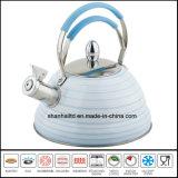 Manija de silicona utensilios de cocina de tetera de acero inoxidable