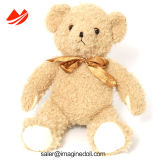 Urso material da peluche do bom luxuoso longo Handmade com camisola