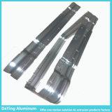 Aluminiumstrangpresßling mit dem verbiegenden bohrenlochenden Aufbereiten für Laufkatze-Kasten