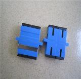 Adaptador óptico a dos caras competitivo de fibra del Sc Upc del precio con el borde