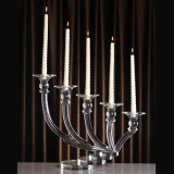 9 ramo Crystal Candleholder con Cheaper Price
