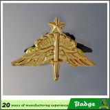 Kundenspezifischer Goldpilot Wings Pin-Abzeichen