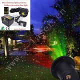 クリスマスの星のシャワーのレーザー光線2カラー屋外の景色の照明