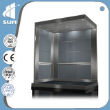 Velocità 1.75m/S Stainless Steel Capacity 800kg Passenger Elevator