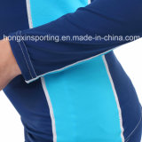 Two-Piece Long Rash Gurad para roupa de banho Sports Wear & Surfing Suit