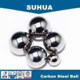 35mmは柔らかい炭素鋼の球を磨いた