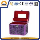 化粧品の記憶(HB-2043)のための紫色の構成の虚栄心ボックス