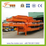 12.9m 3axle Lowbed Semi Trailer