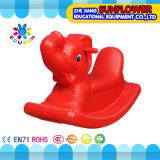 Elefant-Form-Plastikschwingspielzeug, Tierplastikständiges schwanken, Plastikschwingspielzeug, Schwingpferd