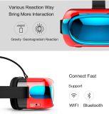 Cadre II de Vr de rétablissement de carton de Google 2ème virtual reality Headmount + Bluetooth 2.0 en verre 3D de casque en verre de Vr
