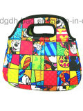 Custom Cute Carton Neoprene Lunch Bag Fabricant en gros