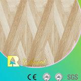 Suelo laminado fonoabsorbente de la teca de la textura de la viruta del hogar 8.3m m