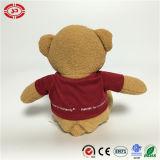 Urso desgastando enchido bonito doce Home da peluche do brinquedo do t-shirt