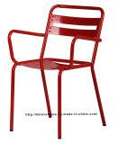 Металл реплики Morden промышленный обедая стул стали кресла трактира