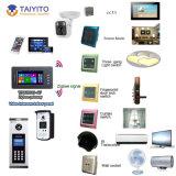 Sistema de control elegante de Zigbee APP WiFi de la automatización casera de Domotic de la buena calidad del precio de fábrica