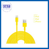 iPhone 5sのための3m 10ft Micro Data Flex USB Cable