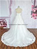 Modernes Art-Schutzkappen-Hülsen-Hochzeits-Kleid 2016 bildete in China