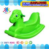Brinquedo de balanço plástico da forma do elefante, balanço plástico animal, brinquedo de balanço plástico, cavalo de balanço
