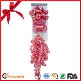 Mischfarbband-Ei-und Farbband-Stern-Bogen eingestellt für Weihnachtsverpackung und Produkt-Förderung