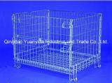 Stapelbare Sperrklappenkasten-Behälter des Ineinander greifen-Hc3 für Lager-Stahl-Rahmen