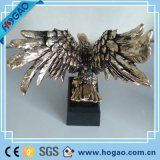 2016 с самым высоким рейтингом подгонянных домашних статуй орла Polyresin подарка украшения