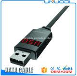 Кабель USB Micro цифровой индикации 100cm времени установленный СИД Joyroom Android для Android мобильного телефона