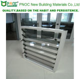 2016 grelhas de vidro de alumínio clássicas novas do projeto moderno com vidro Tempered Pnoc0001gl