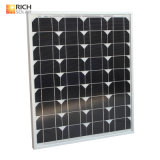 40W Monocrystalline 태양 전지판 소형 태양 모듈 Monocrystalline 태양 전지