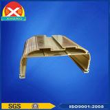 Radiateur en aluminium avec le traitement extérieur différent