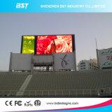 Prix usine P10mm Staduim polychrome annonçant des écrans de DEL