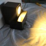 호텔 프로젝트 램프를 위한 실내 알루미늄 침대 곁 벽 램프