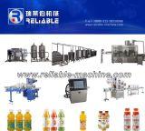 Máquina de rellenar embotelladoa caliente del zumo de fruta para la cadena de producción del jugo