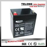 batterie d'acide de plomb d'UPS 12V4.5ah avec le certificat d'UL de RoHS de la CE