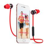 Écouteur sans fil de vente chaud de Bluetooth de sport stéréo magnétique d'Amazone