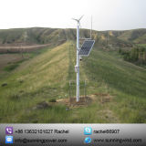 Regolatore ibrido solare di potere del vento per fuori dal sistema dell'alimentazione elettrica di griglia